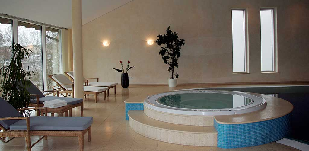 Whirlpool rund für Wellnesshotels